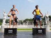 FIVB Heroes: Brazilian Emanuel Rego and American Kerri Walsh